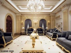 qatar private villa interior design