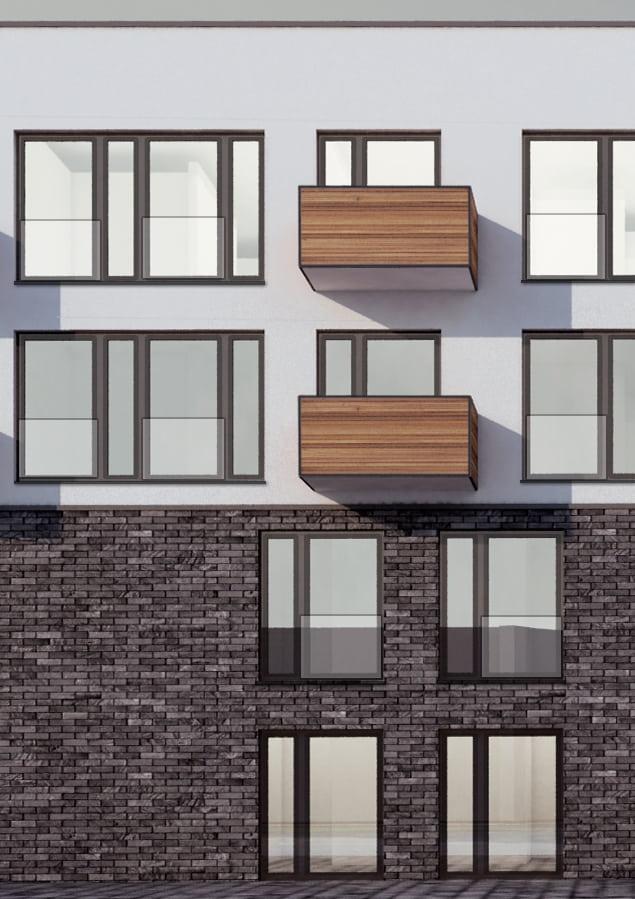 Fassadenkonzept - Siamnd Ossi