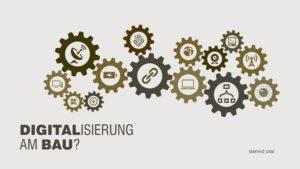 Die Digitalisierung im architektonischen Berufsfeld - Sind ALLE digital